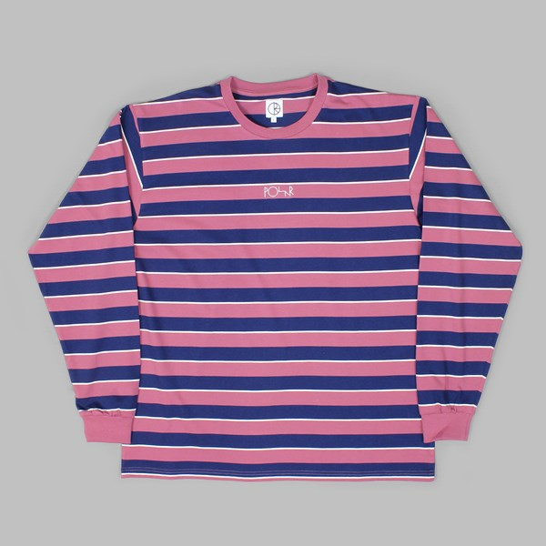 ecaa393d47 POLAR SKATE CO. STRIPED LONGSLEEVE DUSTY ROSE