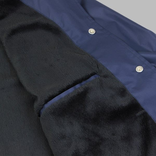 POLAR SKATE CO. STROKE COACH JACKET NAVY