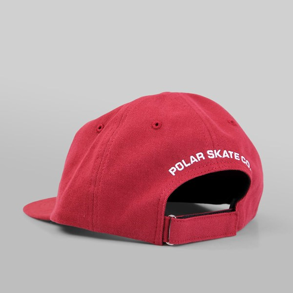 POLAR SKATE CO. NO COMPLY RED WINE
