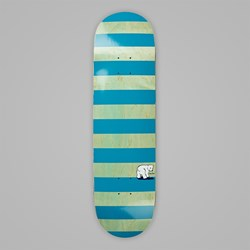 POLAR X DEAR SKATING BLOCK STRIPE DECK MINT 8.25""