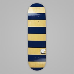 POLAR X DEAR SKATING BLOCK STRIPE DECK YELLOW 8.5""