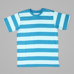 POLAR X DEAR SKATING BLOCK STRIPE T-SHIRT MINT