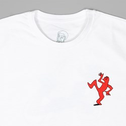 POLAR X DEAR SKATING RON CHATMAN T-SHIRT WHITE