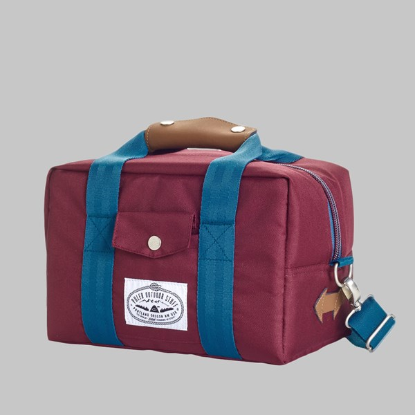POLER CAMERA COOLER BAG BURGUNDY