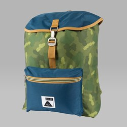 POLER FIELD BACKPACK GREEN CAMO