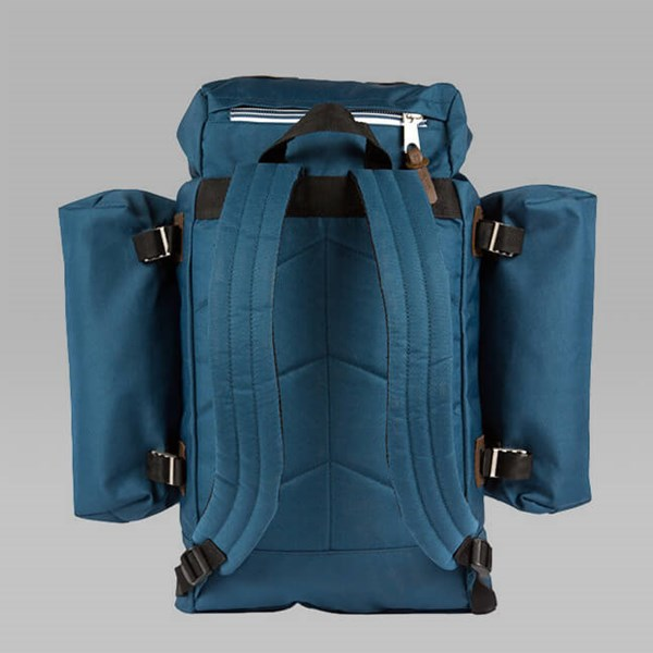 POLER RETRO RUCKSACK BLUE STEEL