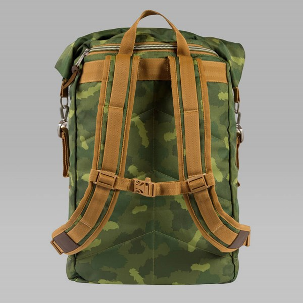 POLER 2.0 ROLLTOP BACKPACK GREEN CAMO