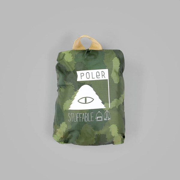 POLER STUFFABLE BACKPACK GREEN CAMO