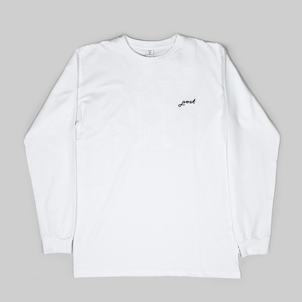 POST DETAILS HYDRANT LONG SLEEVE TEE WHITE CAMO