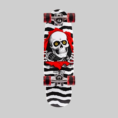 POWELL PERALTA COMPLETE MINI RIPPER WHITE 7.5