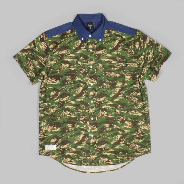 PRIMITIVE	FIRSTCLASS SS SHIRT GREEN