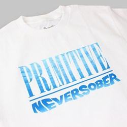 PRIMITIVE NEVER SOBER TEE WHITE