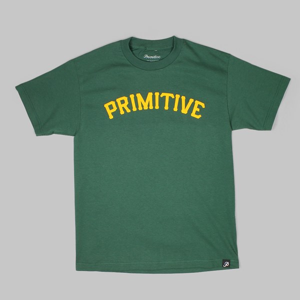 PRIMITIVE SLAB 08 TEE HUNTER GREEN