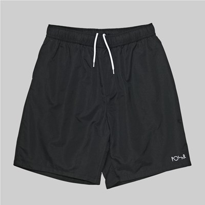 POLAR SKATE CO. SWIM SHORTS BLACK
