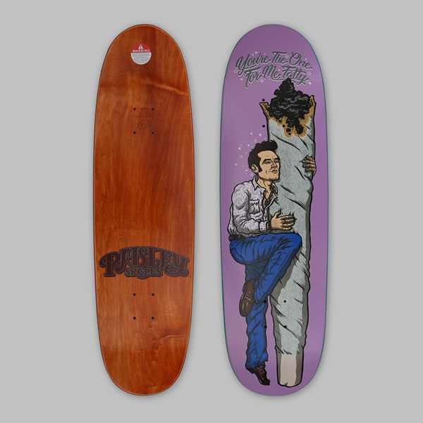 PAISLEY BY SEAN CLIVER 'YOUR THE ONE FOR ME' DECK 8.8""