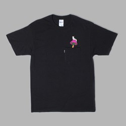 RIP N DIP PSYCHEDELIC NERMAL POCKET TEE BLACK