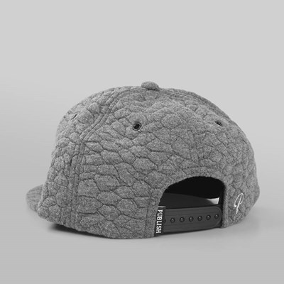 PUBLISH ANTONIUS 5 PANEL SNAPBACK CHARCOAL
