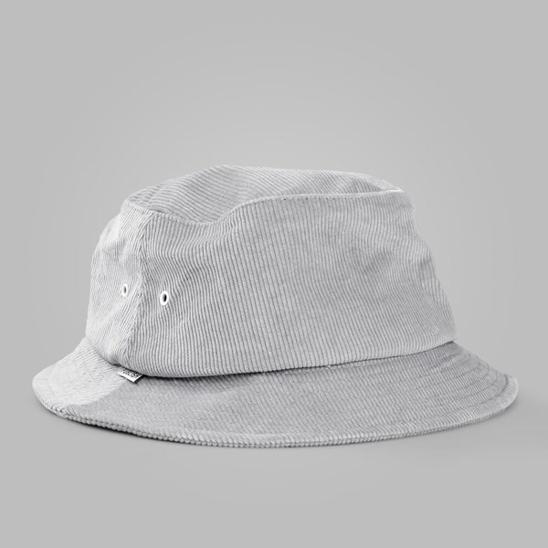 PUBLISH BAXTER CORD FISHERMAN BUCKET HAT GREY