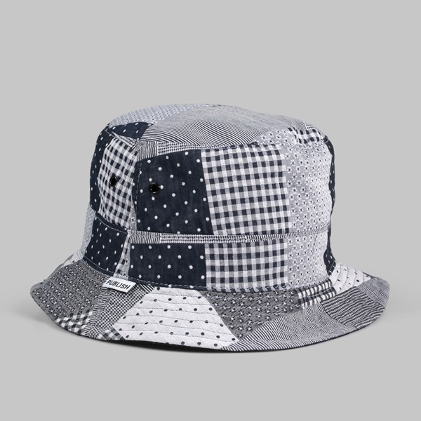 PUBLISH GRAYDON REVERSE BUCKET HAT NAVY