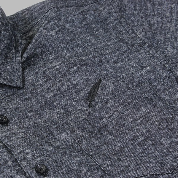 PUBLISH LAYNE DENIM LS WOVEN SHIRT BLACK