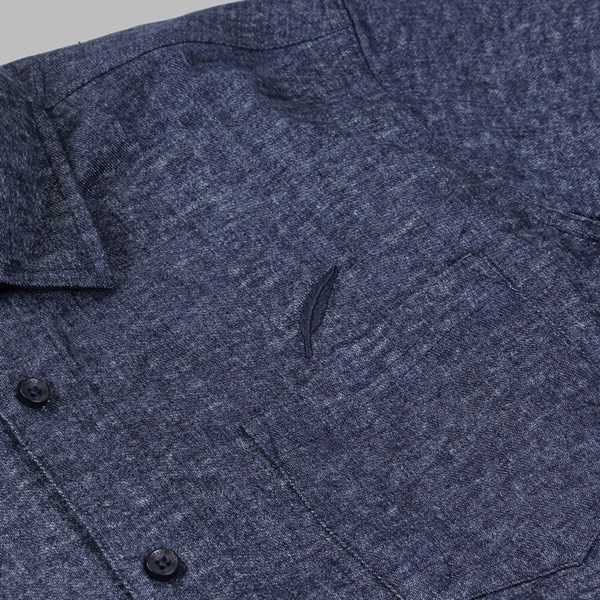 PUBLISH LAYNE DENIM LS WOVEN SHIRT INDIGO