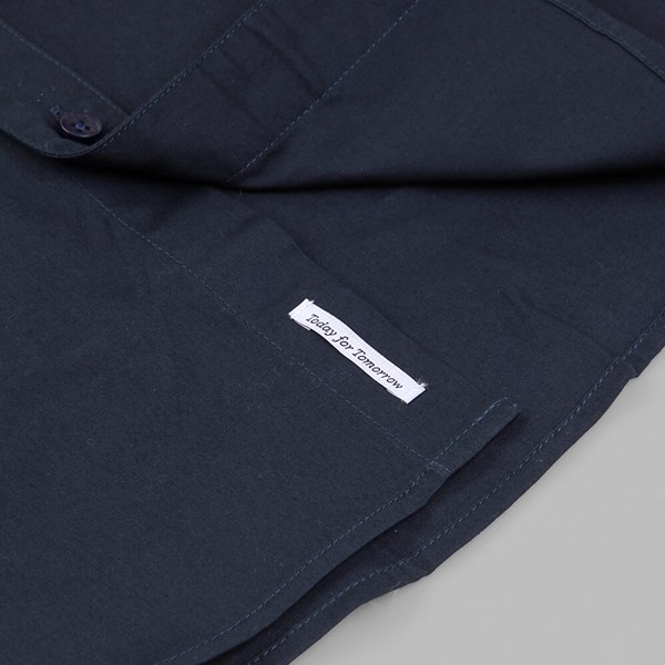 PUBLISH MARVIN OXFORD LS WOVEN SHIRT NAVY