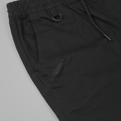PUBLISH SLASH CROPPED PANT BLACK