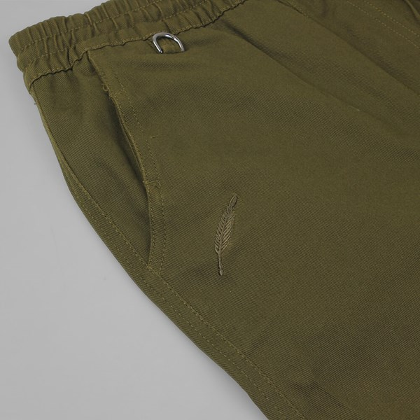 PUBLISH SLASH CROPPED PANT OLIVE
