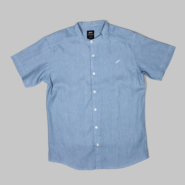 PUBLISH WALKER SS SHIRT LIGHT INDIGO
