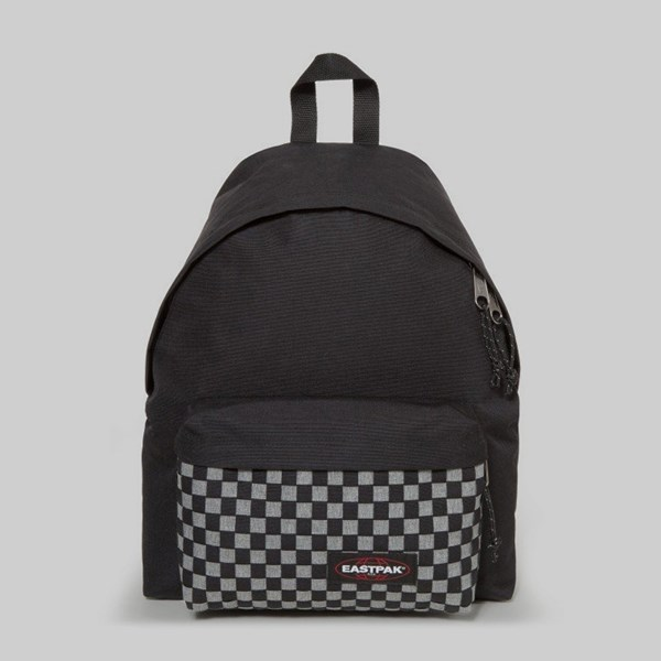 EASTPAK PADDED PAK'R BACKPACK GREY WEAVE