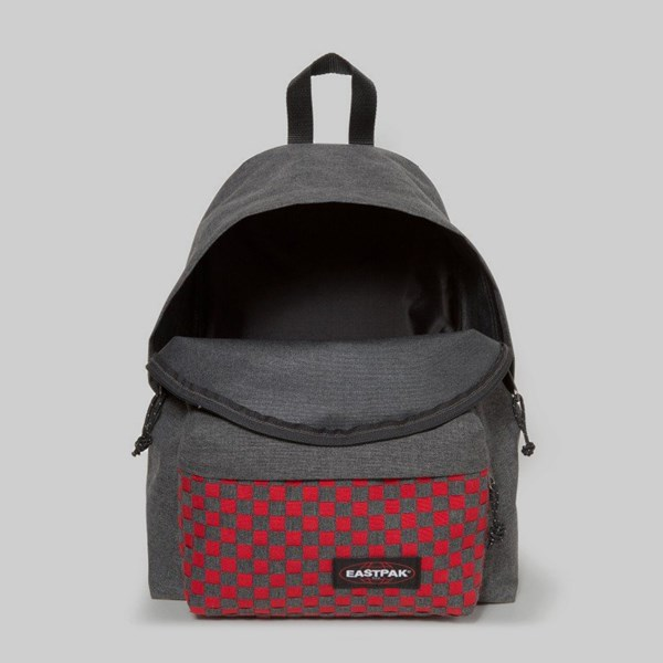 EASTPAK PADDED PAK'R BACKPACK RED WEAVE