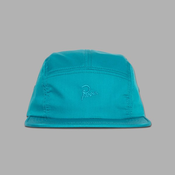 BY PARRA TONAL LOGO 5 PANEL CAP AQUA