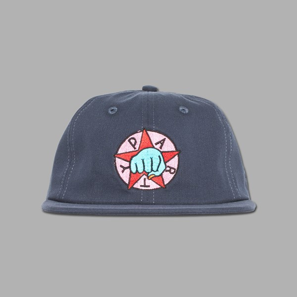 BY PARRA PARTY 6 PANEL CAP NAVY