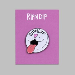 RIP N DIP PILL PIN BADGE