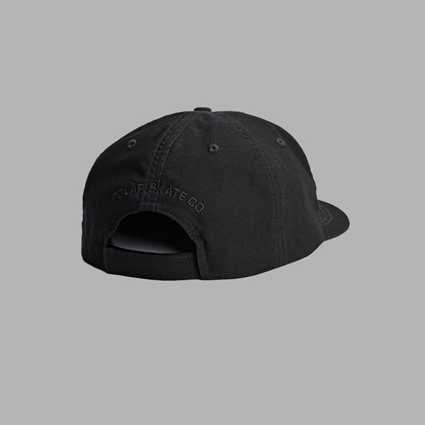 POLAR SKATE CO. PLAIN CAP BLACK