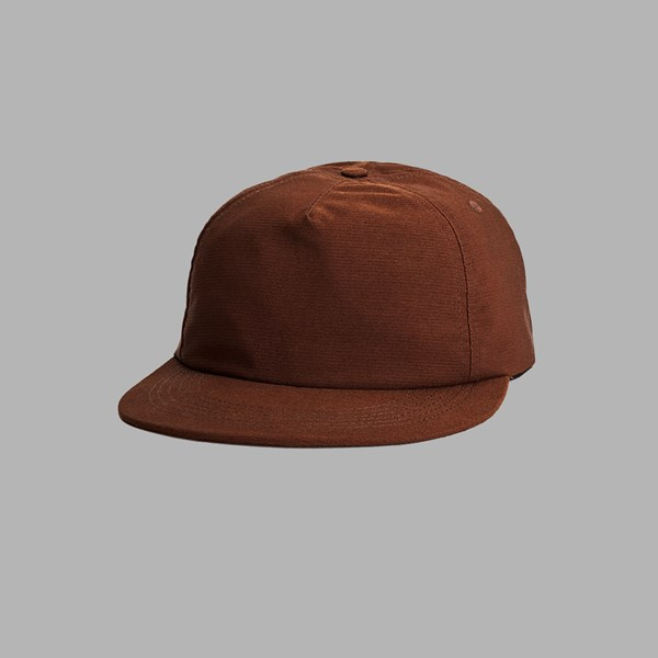 POLAR SKATE CO. PLAIN CAP RUST RED