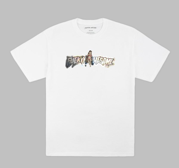 FUCKING AWESOME PLASTIC WOMAN TEE WHITE