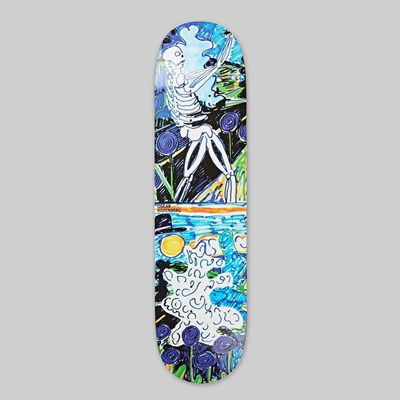 POLAR SKATE CO. OSKAR ROZENBERG 'SKELETON' DECK 8.25""