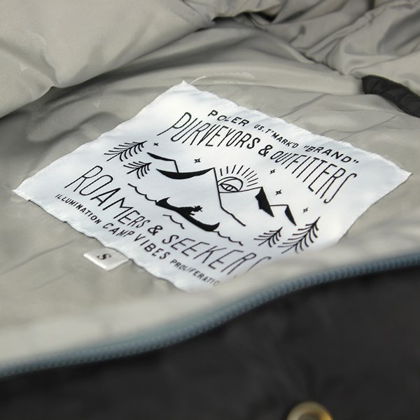 Poler Guide Down Jacket Black Pigeon