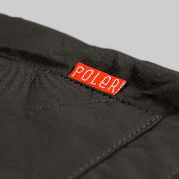 Poler Reversible Jacket Black