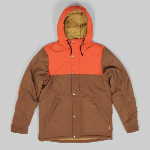 Poler Scout Parka Jacket Beaver Burnt Orange