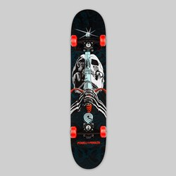 POWELL PERALTA COMPLETE SKULL & SWORD RED 7.88""