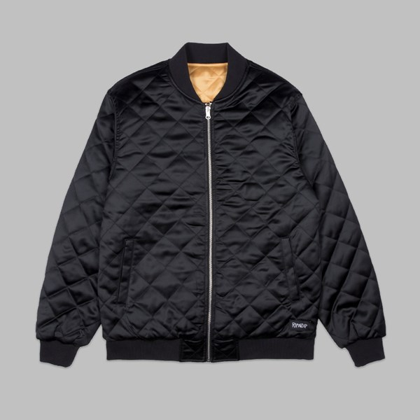 RIP N DIP PRAYING FOR NERMAL REVERSIBLE JACKET BLACK