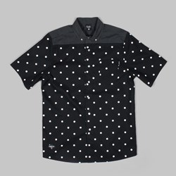 Primitive Dots Short Sleeve Shirt Black