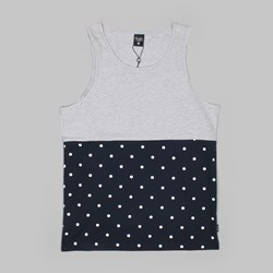Primitive Dots Tank Top Navy Heather