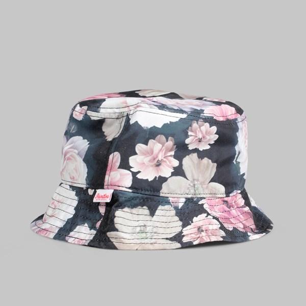 19b4741bfa6 Primitive Rose Noir Bucket Hat Black