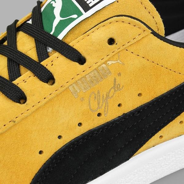 548d5201cd58 Puma Clyde OG Bright Gold Puma Black