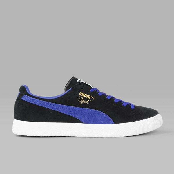 Puma Clyde OG Puma Black Electric Blue Lemonade