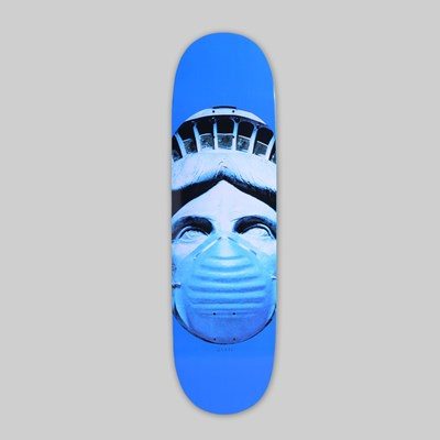 QUASI SKATEBOARDS 'AIR' DECK BLUE 8.75""