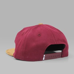 QUASI 'BELIEVE' UNSTRUCTURED CAP BURGUNDY